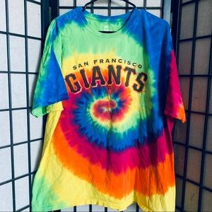San Fransisco Giants tie dye t-shirt sz XL